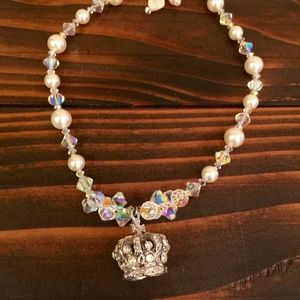 "14.5"" Crown Choker necklace"